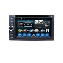 Grosses soldes! Usine 6.2inch 2 din universel Auto Navi GPS Lecteur DVD Avant grand USB avec Radio Bluetooth, wifi, Android 6.0 / 7.1