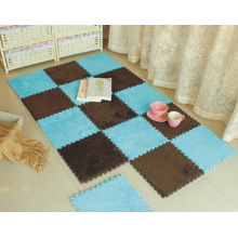 Mousse EVA en peluche douce Tatami Mat tapis de peluche EVA Puzzle