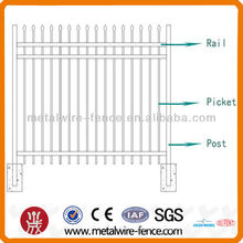 Decorative iron Tube Security Fence
