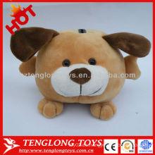 Precioso perro de peluche en forma de banco de moneda de juguete para los niños ahorrar dinero
