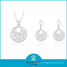 South American 925 Sterling Silver Jewelry Set for Women (J-0034)