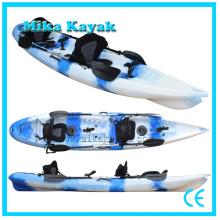 2 persona Kayak del océano al por mayor se sientan en la canoa superior del barco de pesca