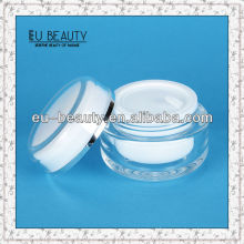Round 150 acrylic cream ball shape cream jar