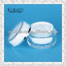 Round 150 acrylic cream ball shape cream jar