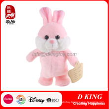 Electronic Plush Rabbit Bunny Toy Can Walk and Sing