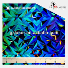 GZ-011, geprägtes Aluminiumblech für holographisches Etikett
