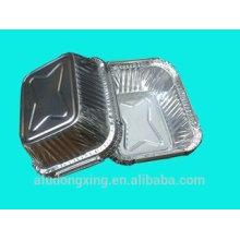 Recipiente Folha de alumínio, lancheira folha de alumínio 3003 meio difícil