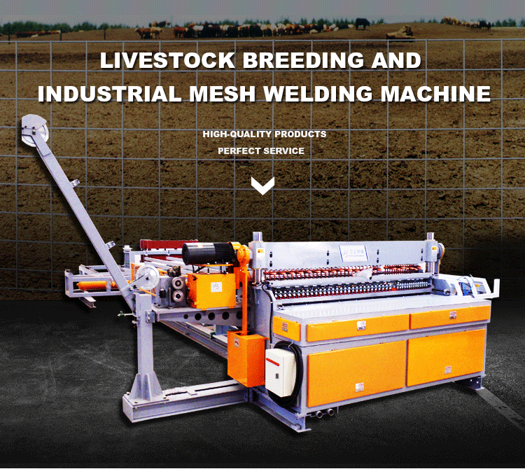 Heavy Wire Mesh Machine