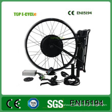 TOP/OEM Professional Supplier 48v 1000w Electric Bike Conversion Kit With Lithium Battery