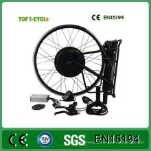 Jogo elétrico profissional da conversão da bicicleta do fornecedor 48v 1000w da PARTE SUPERIOR / OEM com bateria de lítio