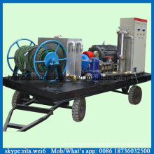 Industrial Pipe Cleaner High Pressure Pipeline Cleaning Equipment