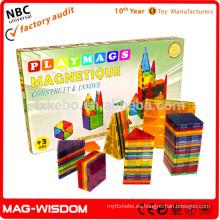 Playmags Magna Azulejos Magnetic Building Ladrillo Azulejos Juguetes Educativos