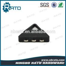 Combinação Cute Mini Black 3 Digital Triangular Padlock