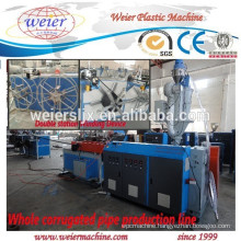 PP PE PVC electric conduit flexible pipe making machinery