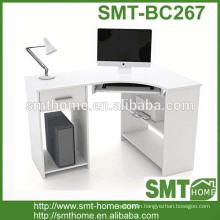 pretty white computer table/desk wooden board home use