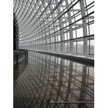 Sichtbares Aluminiumrahmen-Glaszwischenwand-Gebäude
