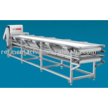 Two layer selecting belt /Plastic conveyor belt and Rubber conveyor belt