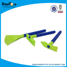 Plástico, criança, mão, jardim, ferramentas, brinquedo, jogo