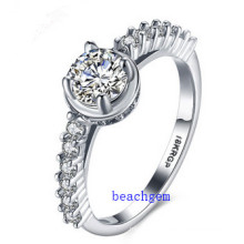 Hot Sell Jewelry- Cubic Zirconia Brass Rings (R0838)