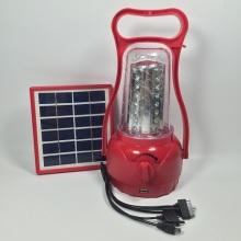 Lanterne solaire portable à LED d'aventure pour randonnée extérieure