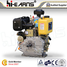 Diesel Engine with Keyway Shaft Yellow Color (HR192FB)