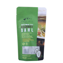 Flexo Printing Poly Resealable Stand Up Pouch