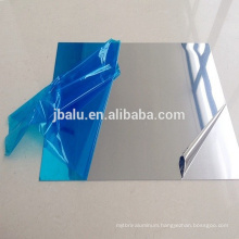 Solar reflective mirror finish aluminum sheet with pvc film