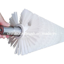 White PP Fruit and Vegetable Cleaning Roller Brush (YY-095)