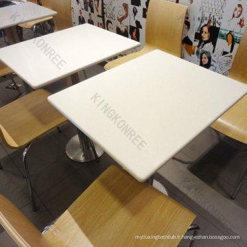 Meilleure vente de solides tables et chaises de cantine