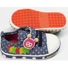 Обувь для детей с хорошей продажей для новорожденных с мягким подошвой (SNB-18-0005)