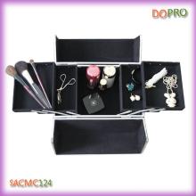 Piedra grietas patrón de viaje profesional de maquillaje caso (saccom124)