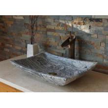 Juparana multicolor grey granite vessel sink