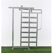 Portão corrediça de gado
