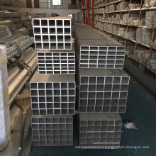 6000 Series Mill Finish Extruded Aluminum Square Tube