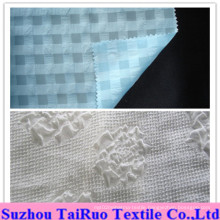 100% Polyester Embossed Chiffon for Lady Scarf and Shirt