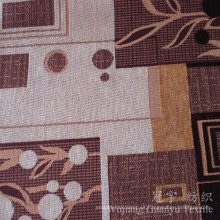 Tela de polyester teñida hilado del telar jacquar de Jacquard para el sofá