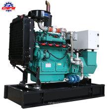 Зеленый низкое энергопотребление 4105D 30квт генератор природного газа, комплект