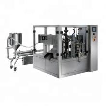 Automatic Plastic Bag Juice Doypack Liquid Filling And Sealing Machine For Milk Yogurt
