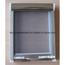 Tela de porta de fibra de vidro à prova de insetos / tela de janela / rede mosquiteira de fibra de vidro