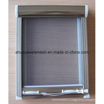 Écran de porte de fibre de verre de preuve d'insecte / écran de fenêtre / moustiquaire de fibre de verre