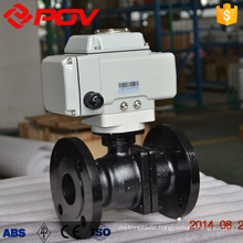 high quality cast steel flange connection ball valve