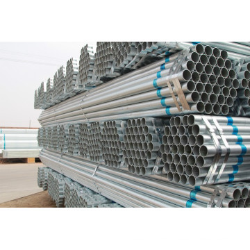 Hot-dip Galvanized Steel pipe with ISO certificate