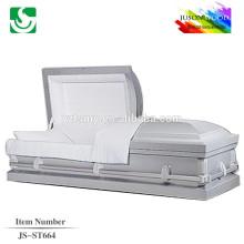 JS-ST664 good quality metal caskets china factory