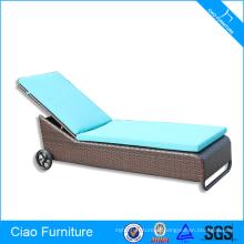 Rodas de cadeira de sala de estar de móveis ao ar livre