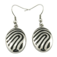 Factory Dernières boucles d'oreilles en argent sterling avec motif 925 Sterling Silver