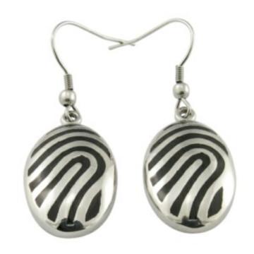 Factory Latest Design Girls 925 Sterling Silver Hoop Earrings