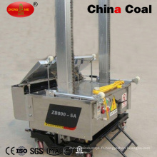 Machine de pulvérisation automatique de plâtre de rendu de ciment