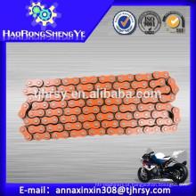 420,428,428H, 520,530 Preço da corrente de rolo de moto de laranja