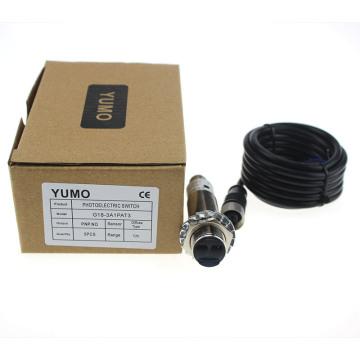 Yumo G18 1m en métal de boîtier de connecteur de boîtier de type boîtier photoélectrique