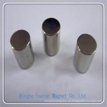 N38uh cilindro neodimio Permenent Motor imán